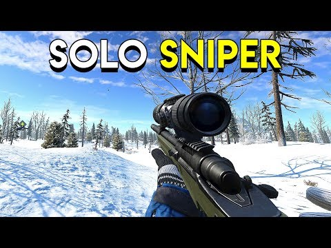 Solo Sniper! - Ring of Elysium (RoE)