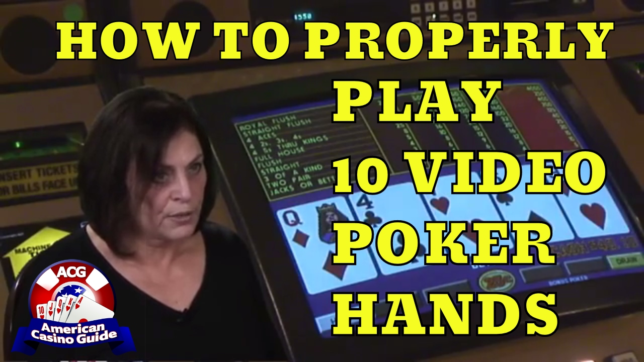video poker hands cheat sheet