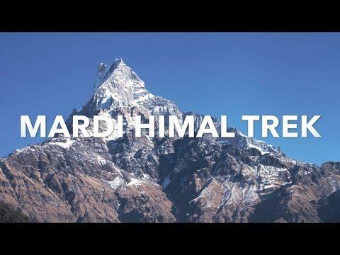 Mardi Himal Trek In 8 Minutes