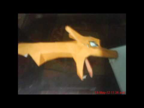Papercraft TUTORIAL CHARIZARD POKEMON PAPERCRAFT