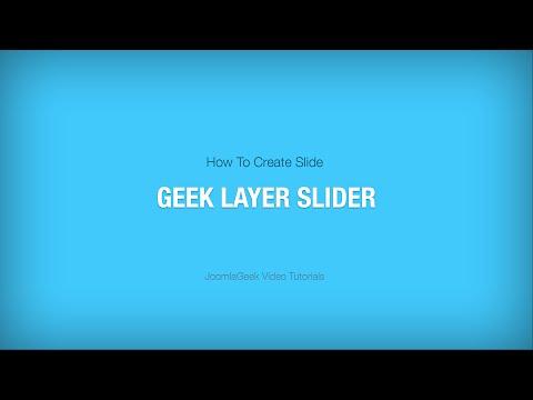 Geek Layer Slider - The Perfect Responsive Layer Slider For Joomla!