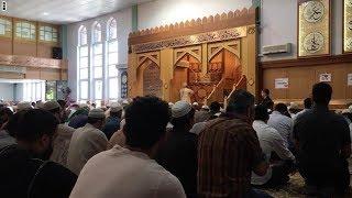 سي أن أن داخل أكبر مساجد مانشستر.. الجأوا للحب