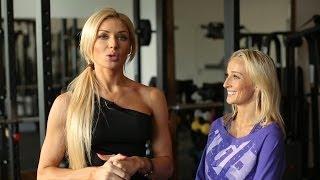 Оксана Яшанькина - Тренировки для девушек с Ольгой Путровой. Bikini Olympia amateur