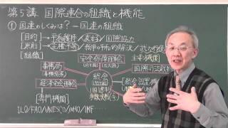 【高橋のセンター政経】 国際連合の組織と機能.