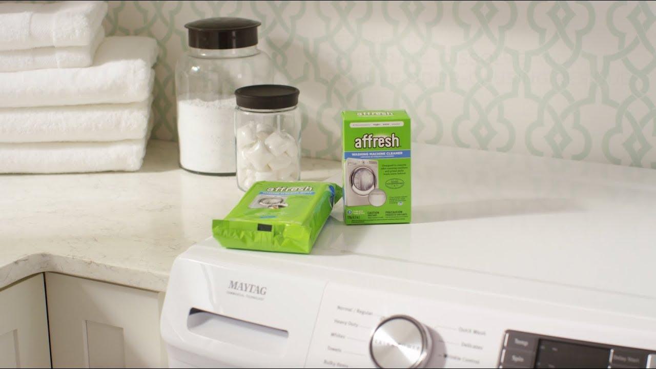 Affresh How To Washing Machine Cleaner Machine Cleaning Wipes Youtube