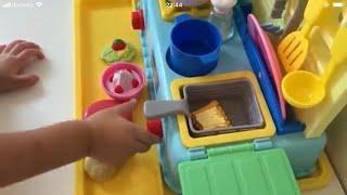 レミンちゃんお世話ごっこ お料理ごっこ おもちゃでおままごと Doll Care Pretend Play