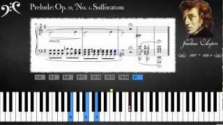 Chopin - Prelude: Op. 28, No. 4. Suffocation (Learn To Play)