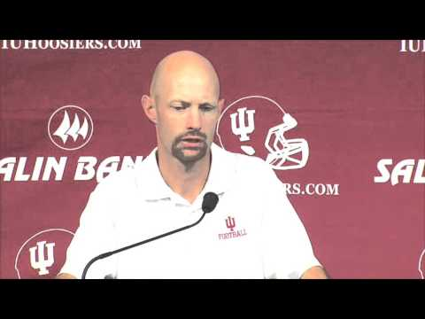 OC Kevin Johns - Rutgers Press Conference - 10/12/15