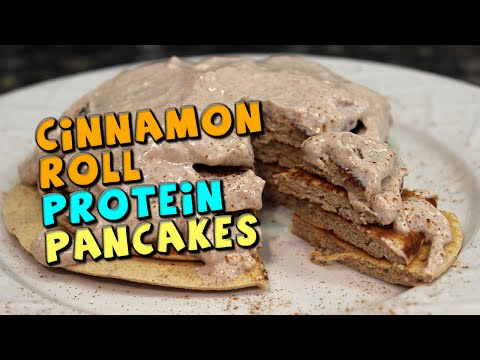 cinnamon-roll-protein-pancakes-recipe