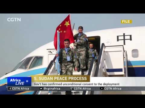 UN MISSION: Talks to send a regional protection force in South Sudan are underway
