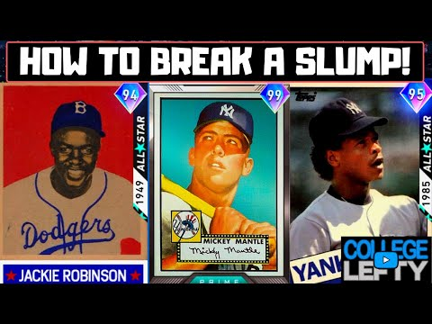 Advanced HITTING TIPS! How To Break Out Of A SLUMP In MLB The Show 20!