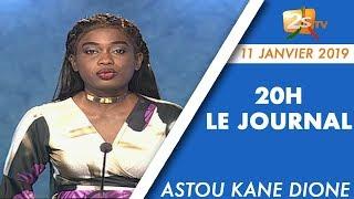 JOURNAL FRANÇAIS 20H DU 11 JANVIER 2019 AVEC ASTOU KANE DIONE