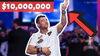 Hossein Ensan is 2019 World Series of Poker Main Event Champion!!