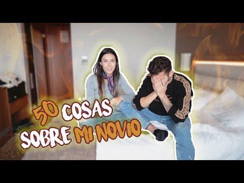50 COSAS sobre MI NOVIO | Cuento TODO! Daniela Salazar