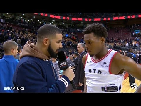 Watch Drake Try To Be Courtside Sports Reporter at NBA Game