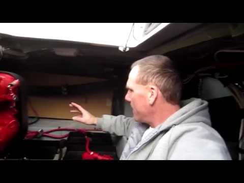 Boating How To - Holding Tank Replacement Project - Part 2 - Measuring For New Tank
