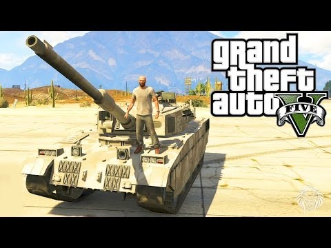 GTA 5: How To Steal A Tank! Best Ways To Steal A Rhino Tank From Fort Zancudo Tips & Tricks (GTA V)