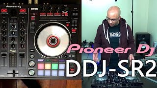 Pioneer DJ DDJ-SR2 Serato DJ Controller Video Review!