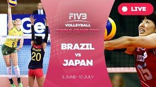 Brazil v Japan - Group 1: 2016 FIVB Volleyball World Grand Prix