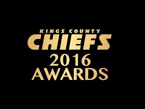 KINGS COUNTY CHIEFS 2016 AWARDS CEREMONY