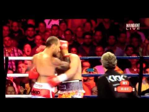 Super Cooper - Quade Cooper's boxing debut - YouTube