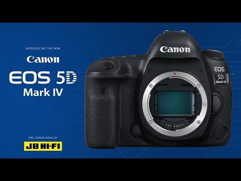 Canon 5D Mk IV - Pre-Order Today at JBHIFI