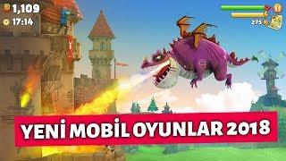 Yeni Mobil Oyunlar 2018 | 2 Efsane ve Diğerleri