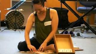 リトミックワークショップにて、音符の積み木の説明。 http://murasaki-...