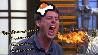 YTP MASTERCHEF ITA - Paolo massacra l'uovo in camicia e bestemmia