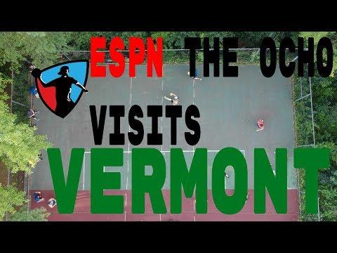 """ESPN """"The Ocho"""" Visits Vermont Dodgeball"""