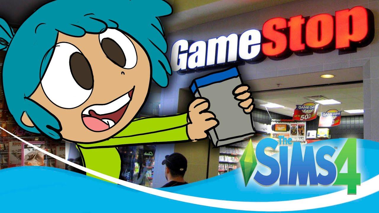 TIENDA GAMESTOP o GAME en LOS SIMS 4  Tienda de Video Juegos