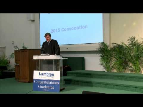 Lambton College In Toronto 2015 Convocation Ceremony (full length)