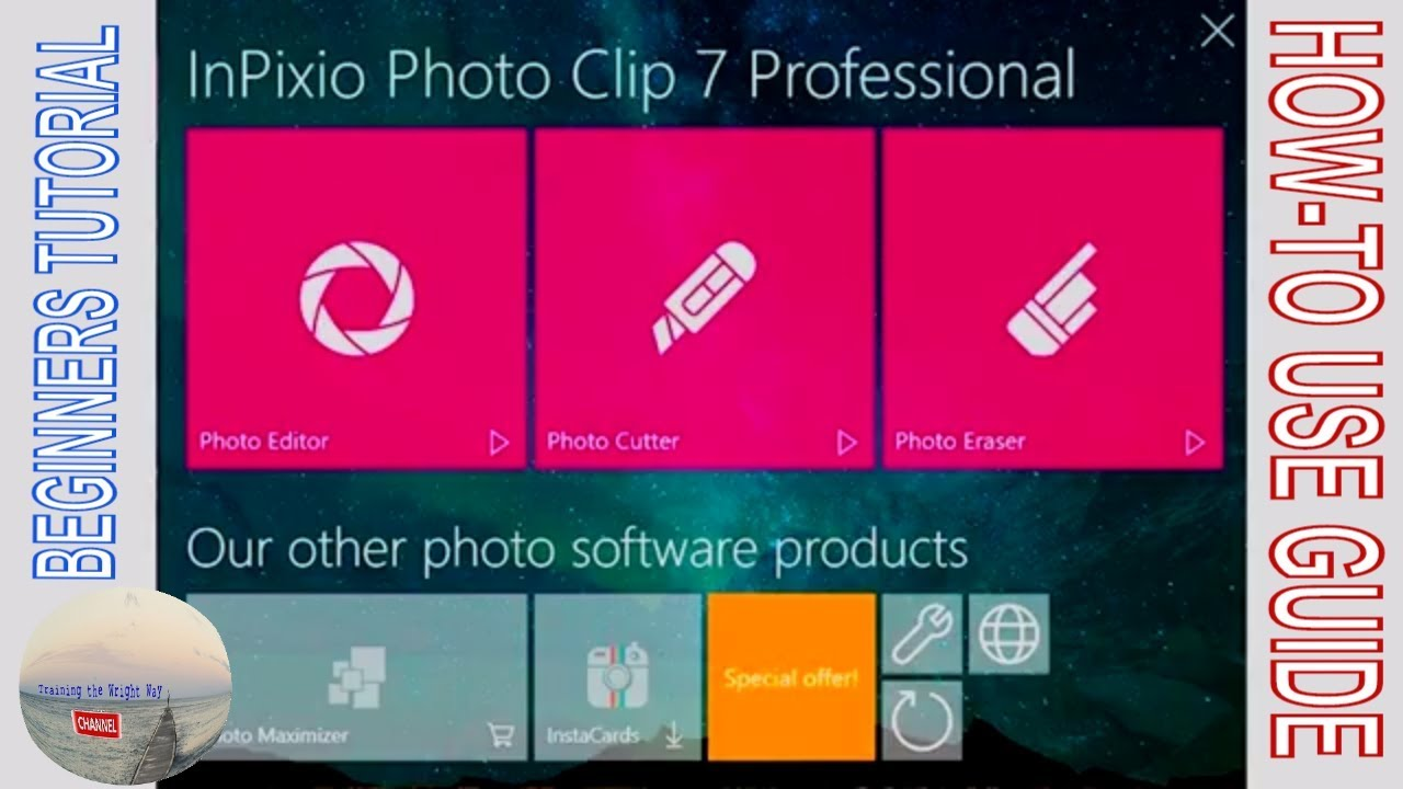 Inpixio Photo Clip 7 Professional How To Guide To Using This Great Value Software
