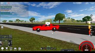 Vehicle simulator Roblox Back To The Future short recording