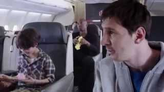 FC Barcelona   Kobe Bryant and Lionel Messi  Legends on Board   Turkish Airlines