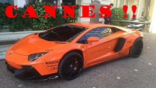 Supercars and Super-yachts in Cannes ! (Monaco Here I Come !)