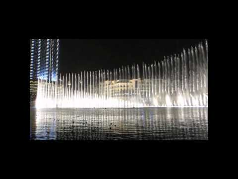 Dubai Fountain – Time to Say Goodbye