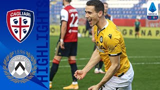 Kevin lasagna came off the bench to give udinese equaliser after a lykogiannis free kick for cagliari   serie timthis is official channel s...