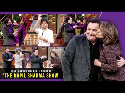 Rishi Kapoor and Neetu Kapoor Rock The Kapil Sharma Show