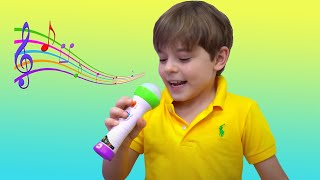 Bogdan and Anabella New Kids Toy Story Compilation