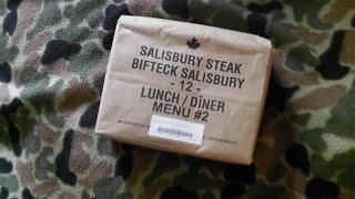 Canadian Imp / Mre Salisbury Steak
