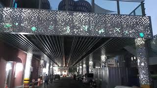 정선 지장천 별빛공원 플랜트 벽체 및 기둥 광섬유 별자…