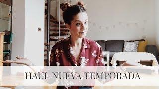 HAUL OTOÑAL NUEVA TEMPORADA // Zara + Pull and Bear + Oysho + Primark // Happymel