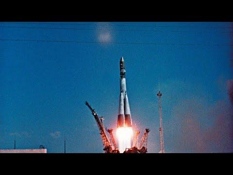 روسيا تحتفل بالذكرى الستين لأول رحلاتها في الفضاء بقيادة يوري غاغارين