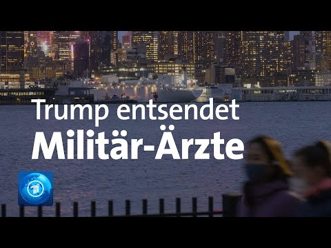 Corona-Pandemie: Trump Entsendet US-Militärärzte In Die Bundesstaaten