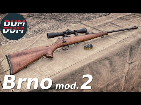 Brno mod. 2 opis puške (gun review, eng subs)