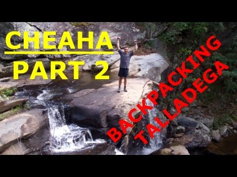 Backpacking Talladega National Forest Cheaha Part 2