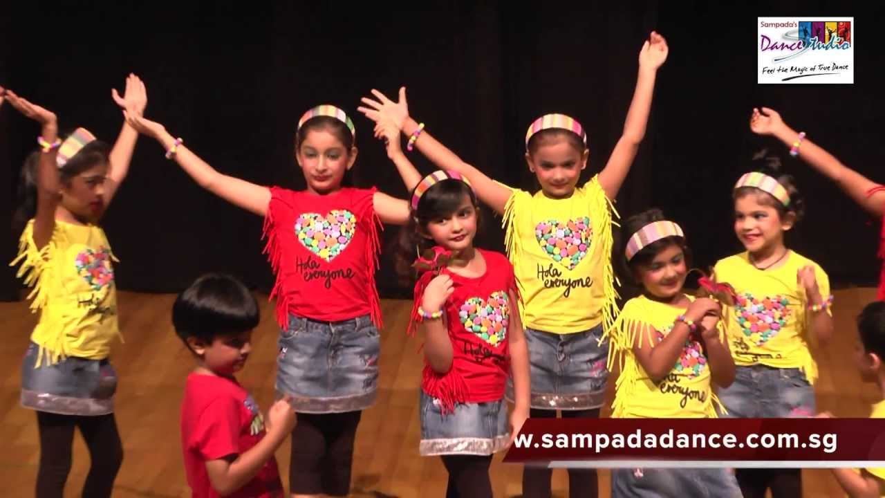 Kids dance performance on Sorry Sorry song by Sampada's Dance Studio  students - YouTube