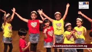 Kids dance performance on Sorry Sorry song by Sampada
