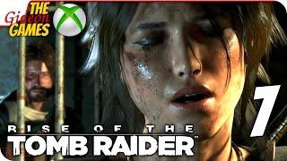 Прохождение Rise of the Tomb Raider на Русском [XBOne] - #7 (Горячий приём)